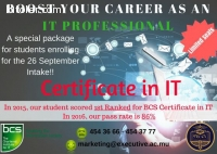 Certificate Course In IT