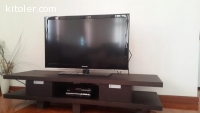 Tv set c/w furniture